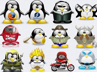 Baixar 650 Icones do Pingüim mais famoso do mundo