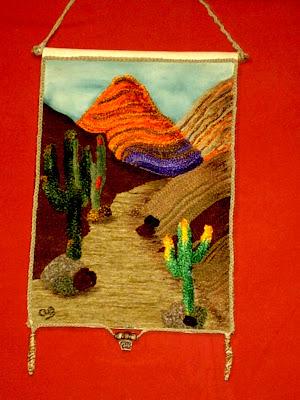 Diarana arte dise o tapices de lana pegada - Pintores en caceres ...