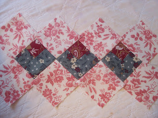 Valentine Hearts Quilt Table Runner