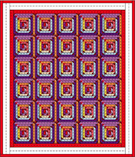 Quilt from Book Twelve of The Quilt Ladies Book Collection, Tomorrow's for Me