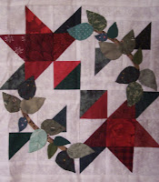 Red, Green and White Quilt Blocks, Book Eight of The Quilt Ladies Book Collection
