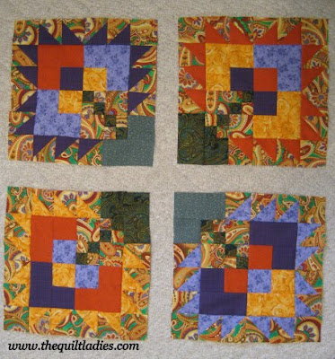 Paisley Quilt Blocks Done