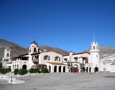 Scotty's Castle Death Valley National Park California