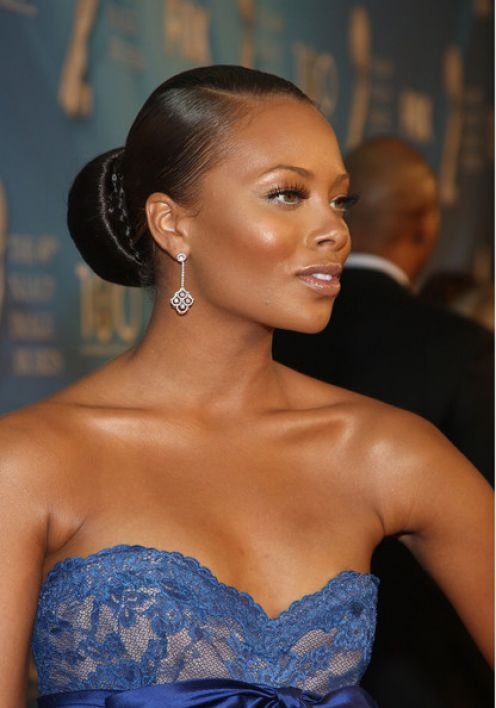 Black Wedding Hairstyles Updo for African American Women