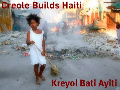 Creole Builds Haiti, French Builds Haiti