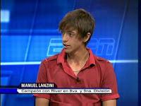 Manuel Lanzini River Plate Inferiores