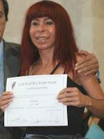 Susana Gil Vocal Titular de River Plate