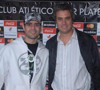 Gaston Gallino y Carlos Nahir Menem River Plate