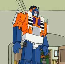 Optimus prime, porcelana fria