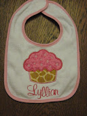 Bib with Applique and Optional Monogram