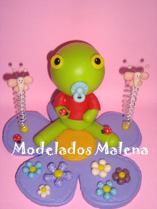 Modelados Malena Porcelana Fria: El Sapo Pepe