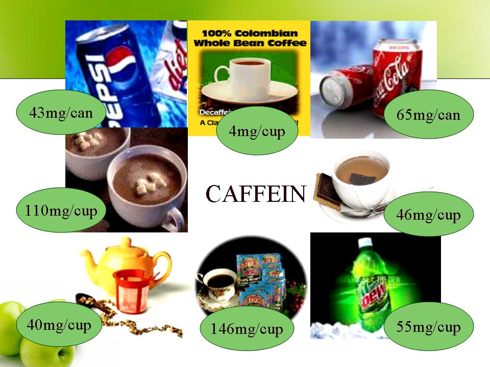 Image result for foods with caffeine