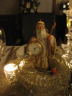Mid-Atlantic Martha: Happy New Year Tablescape