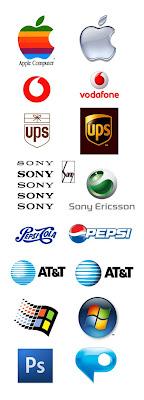 2D and 3D logos