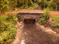 A well-done bridge over a well-done creek