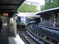 Métro at Bastille