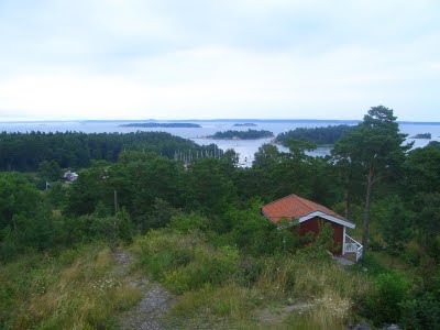 View from the old mill on Utö