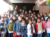 Con Rubén Di Mauro y Niños después de uan función
