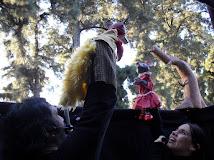 """Función en """"El Viaje de los Títeres"""" de Quilmes"""