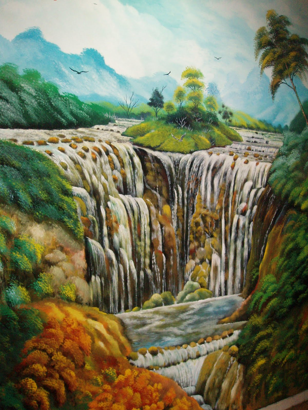 Pelukis mural shah alam restoren jom makan subang perdana for Mural sekolah rendah