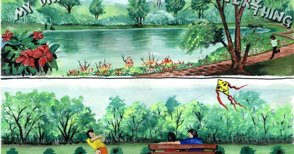 Pelukis mural shah alam lukisan mural lakaran cyberjaya for Mural kartun