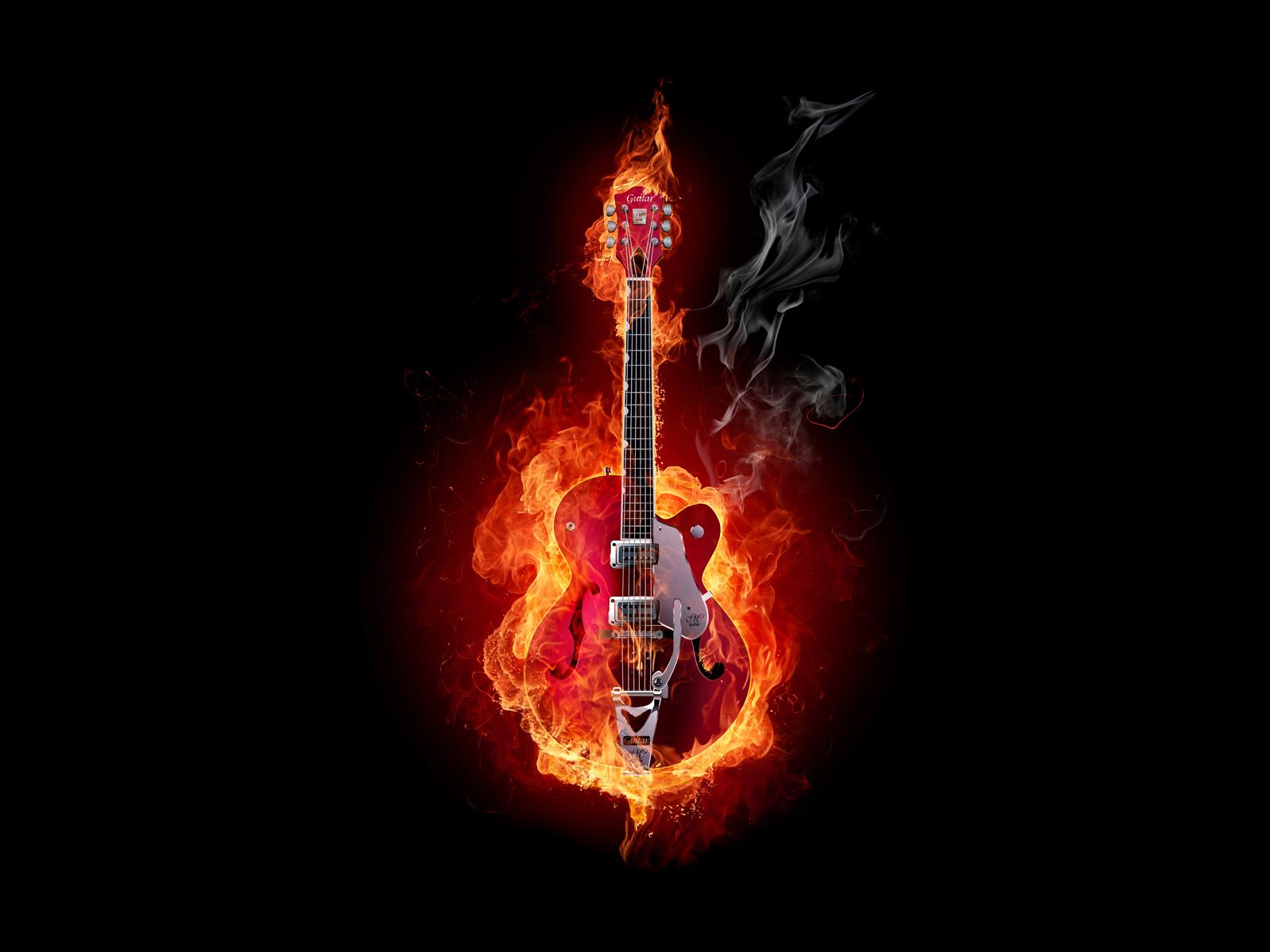 free wallpicz guitar desktop wallpaper hd