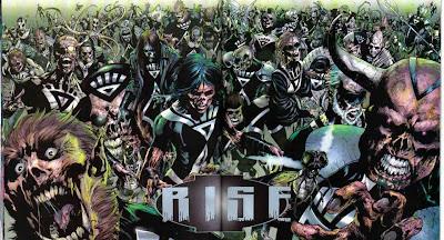¿Cómo diferenciar a un Marvel Zombie de un Black Lanter? Black-lanterns-rise