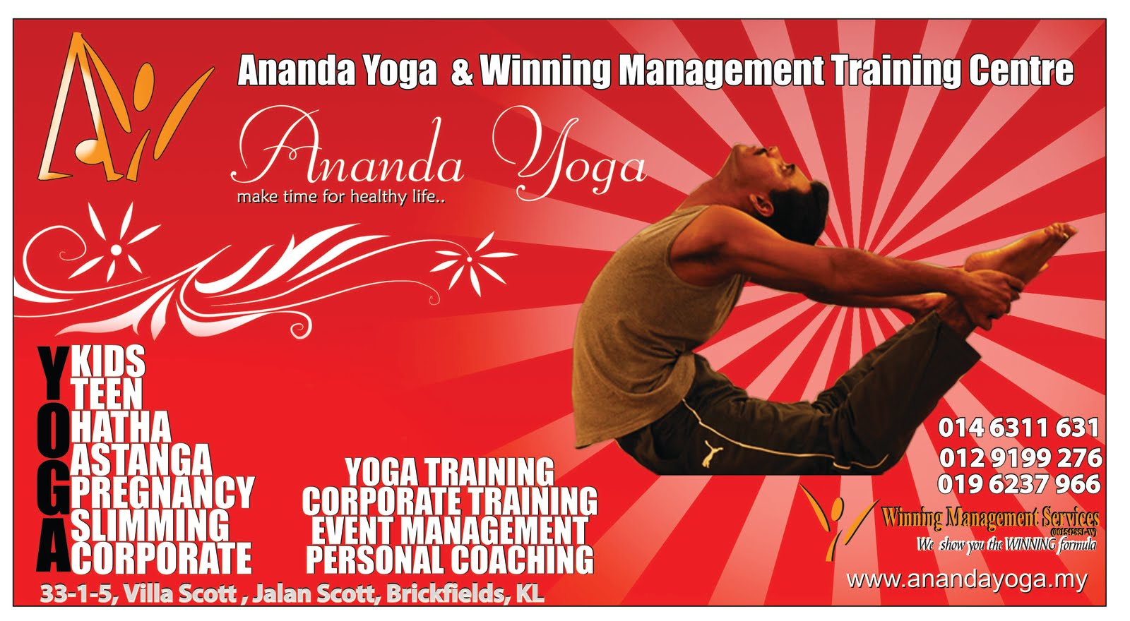 ANANDA YOGA LAUNCH DAY On 28 March 2010