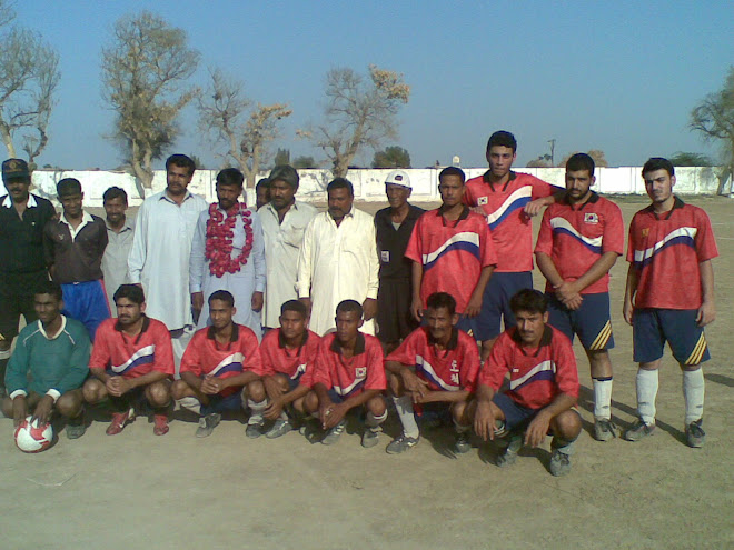 KING BALOCH FOOT BALL CLUB GROUP PHOTO