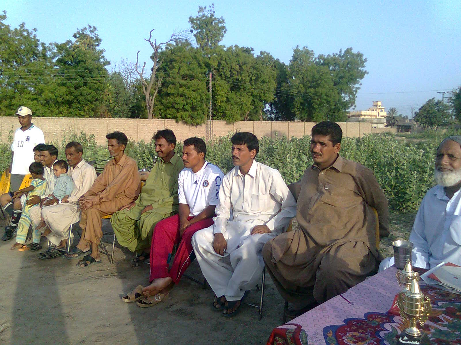 FOUNDER OF YOUNG BALOCH AND KING BALOCH FOOTBALL CLUB USTAD MEHMOOD ALI BROHI AND OTHER MEMBERS *