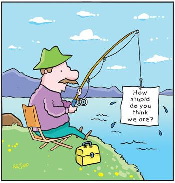 funny fishing my cartoon