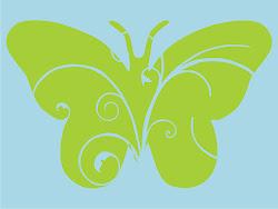 Básicos 027 - Mariposa Calada