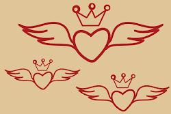 Básicos 038 - Corazón con Alas