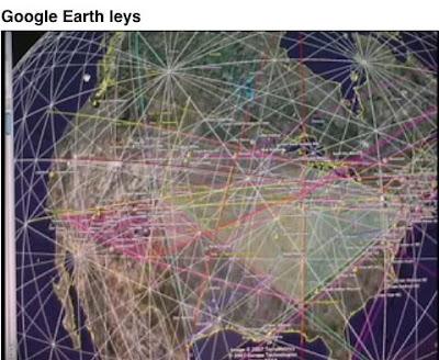Liminal Thresholds Ley line maps