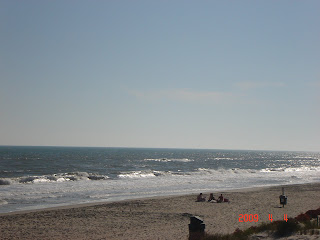 Check out the waves in this beach picture.