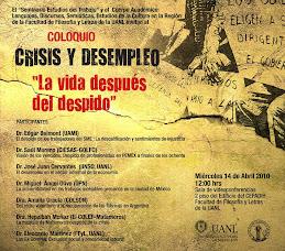 Seminario: Crisis y Desempleo