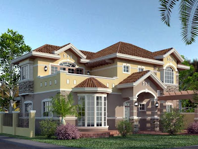 Beautiful sweet 3d home designs by Ronald Caling. Take a look!