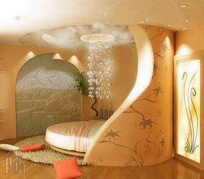 Beautiful home interior designs - Kerala home design -