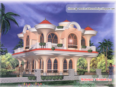 Architecture Home Design on Nice House Designs By Vineeth V S   Kerala Home Design And Floor Plans