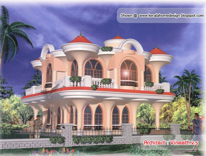 20 nice house designs by vineeth v s kerala home design for Nice home design pictures