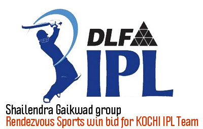 Shailendra Gaikwad groups Rendezvous Sports win bid for KOCHI IPL Team