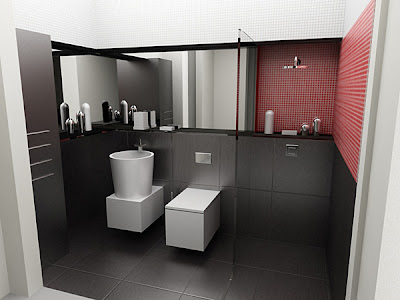 Modern bathroom design Ideas - Kerala home design and ...