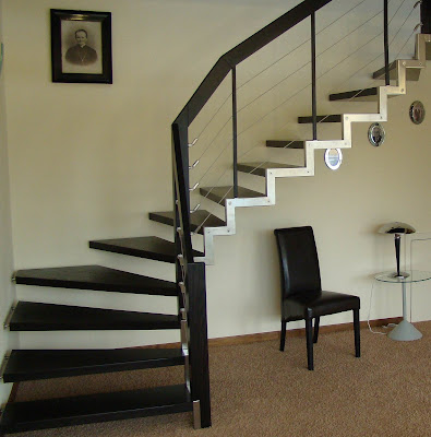 Staircase design ideas - 30 Photos