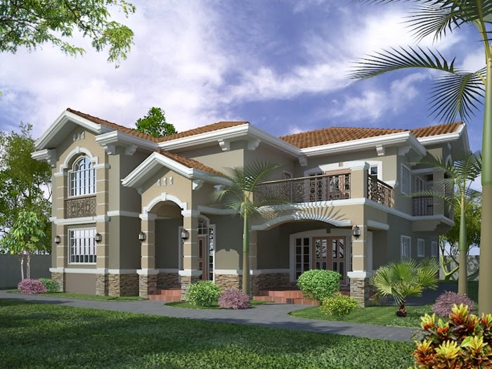 11 awesome home elevation designs in 3d home appliance Home design 3d