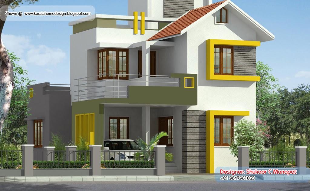 Kerala villa plan 1500 sq ft home appliance for Kerala house plans 1500 sq ft
