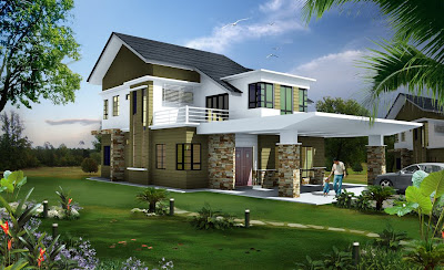 23 Awesome elevations of house - Kerala home design and floor plans