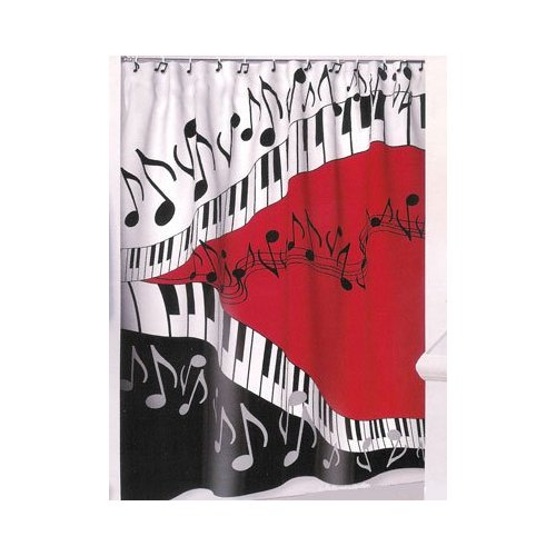 Contemporary Fabric Shower Curtains