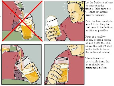 Pour a beer