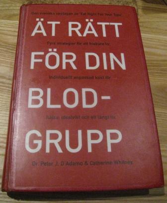ät enligt din blodgrupp