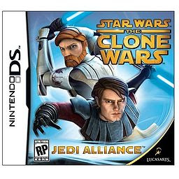 Star Wars :the clone wars : l'alliance des Jedis dans Roms Pokemon 256px-Star_Wars-_The_Clone_Wars_-_Jedi_Alliance_DS_cover